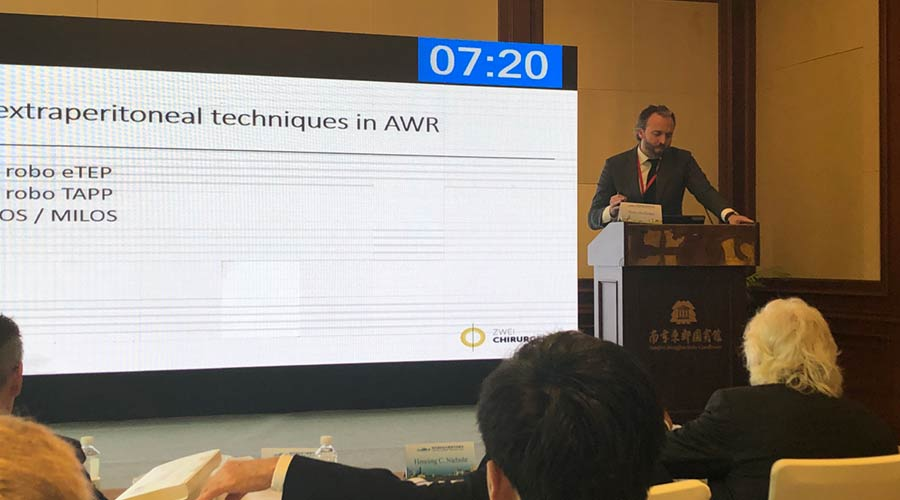 Henry Hoffmann on Nanjing Hernia Summit 2019
