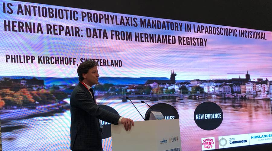 Philipp Kirchhoff on Nanjing Hernia Summit 2019